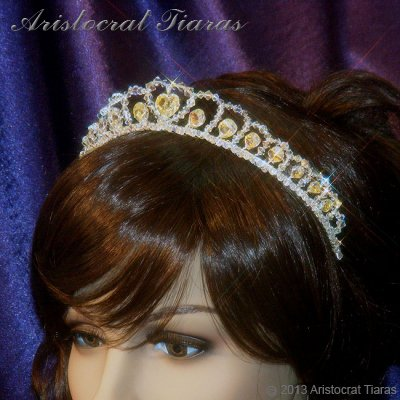Princess Sophie handmade Swarovski wedding tiara picture 8