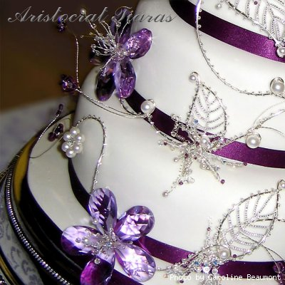 Wedding cake for Christina and Stephen picture 10
