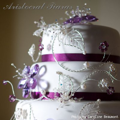 Wedding cake for Christina and Stephen picture 6
