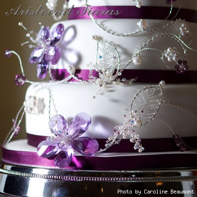 Wedding cake for Christina and Stephen picture 7