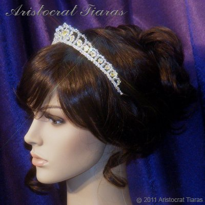 Princess Sophie handmade Swarovski wedding tiara picture 11