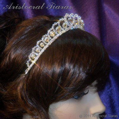 Princess Sophie handmade Swarovski wedding tiara picture 7