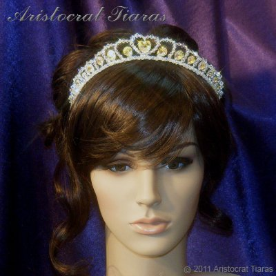 Princess Sophie handmade Swarovski wedding tiara picture 9